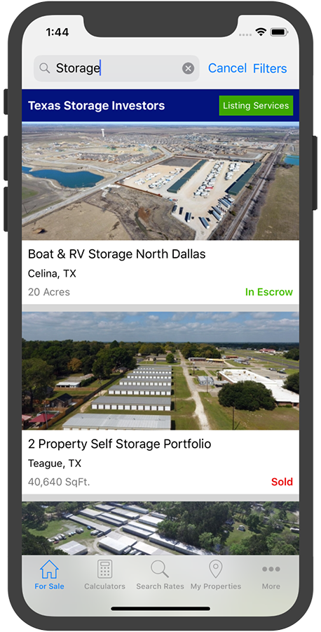 Storage Properties for Sale